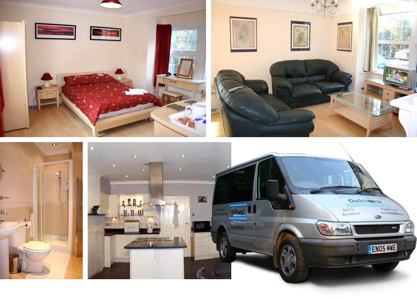Oakhurst Bed & Breakfast photo montage
